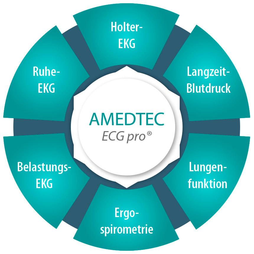 Amedtec ECGpro® Datenmanagement