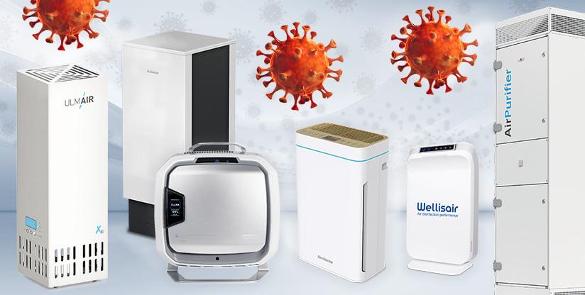 Luft- und Oberflächen-Desinfektionsgeräte