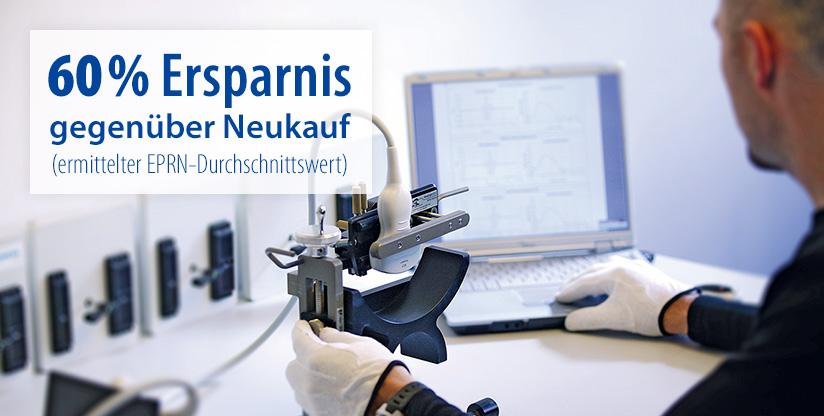 Ultraschall-Sondenreparatur