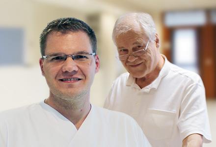 Herr Michael Weitz und Dr. med. Helmut Weitz