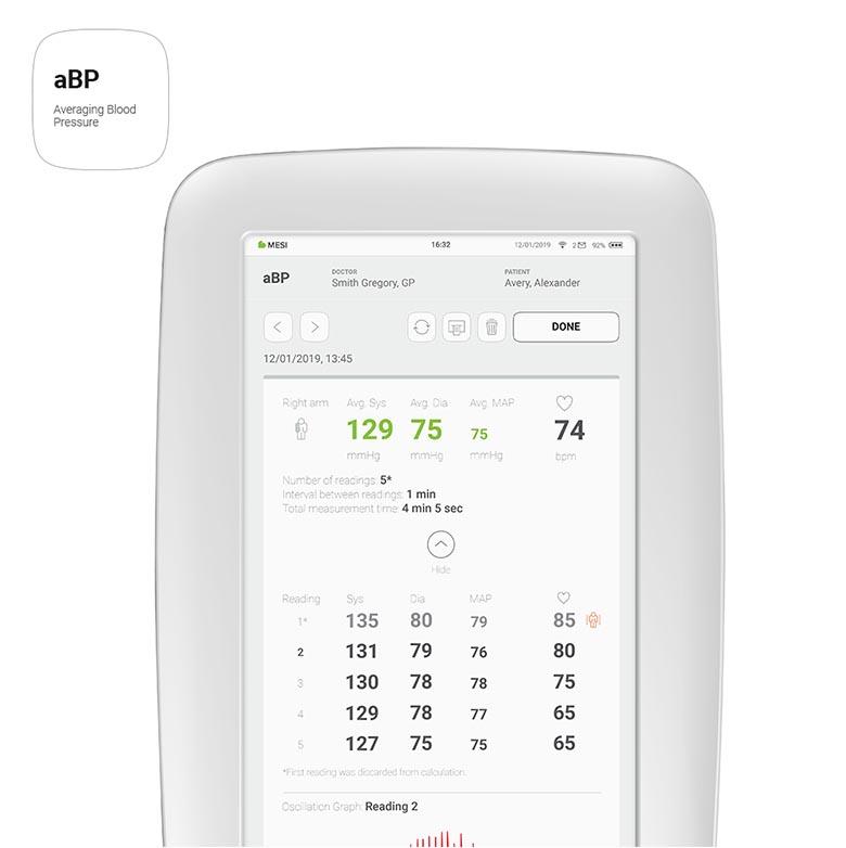MESI mTABLET - aBP App