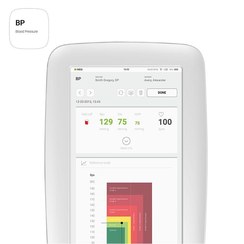 MESI mTABLET - BP App
