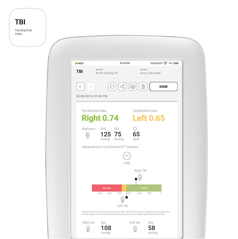 MESI mTABLET - TBI App