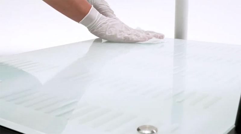 seca mBCA 555 | Einfache Desinfektion, Reinigung und Pflege